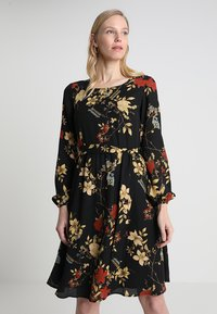 Anna Field - Denní šaty - red/black - 0