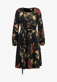 Anna Field - Denní šaty - red/black - 5