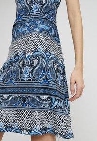 Anna Field - Denní šaty - white/blue - 5