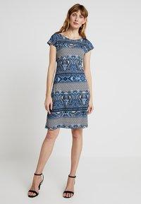 Anna Field - Denní šaty - white/blue - 0