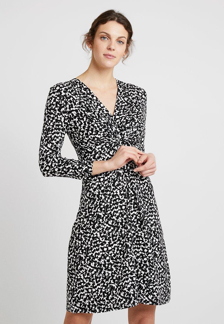 Anna Field - Jerseyklänning - black/white