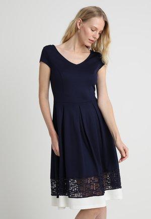 Žerzejové šaty - maritime blue