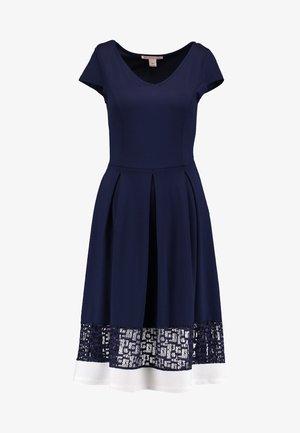 Jerseykleid - maritime blue