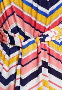 Anna Field - Maxiklänning - white/pink/black - 5