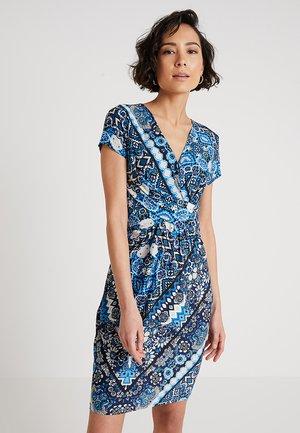 Žerzejové šaty - light blue/blue