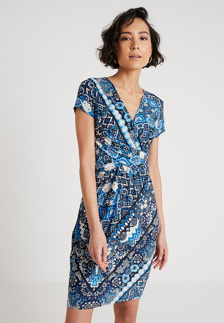 Anna Field - Žerzejové šaty - light blue/blue