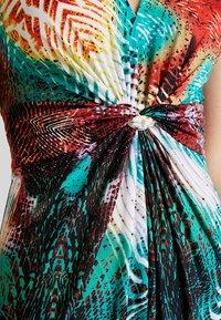Anna Field - Robe longue - orange/green - 5