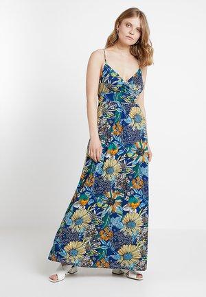 Maxi šaty - blue/orange