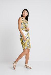 Anna Field - Jersey dress - yellow/light blue - 2