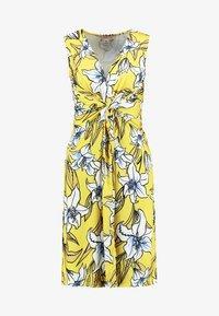 Anna Field - Jersey dress - yellow/light blue - 5