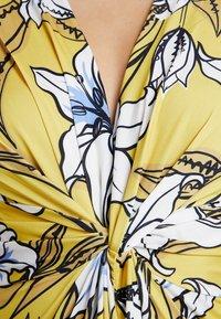 Anna Field - Jersey dress - yellow/light blue - 6