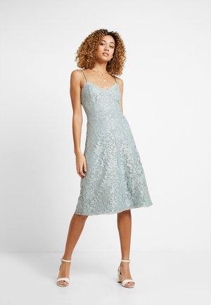 Sukienka z dżerseju - silver blue