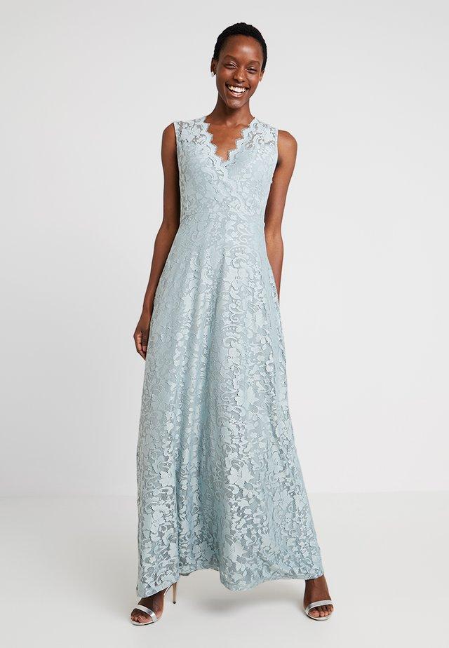 Společenské šaty - silver blue