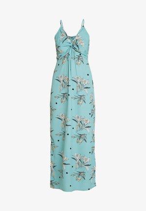 Vestido largo - turquoise