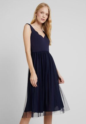 Koktejlové šaty/ šaty na párty - maritime blue