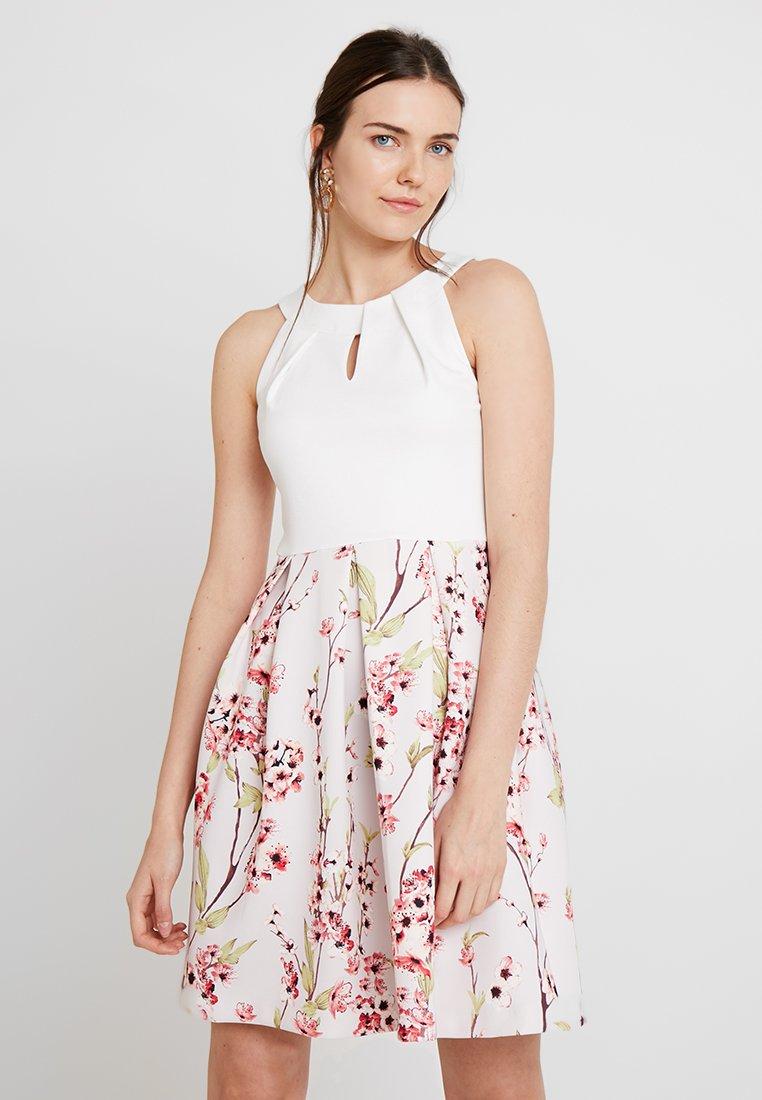 Anna Field - Jerseykleid - white/rose