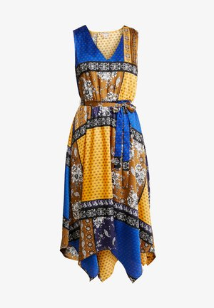 Vestito estivo - yellow/dark blue