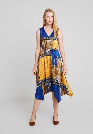 Vestito estivo - yellow/dark blue