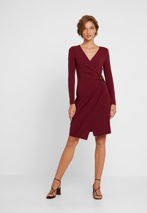 Sukienka letnia - zinfandel/dark red