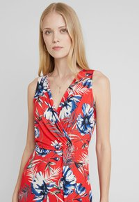 Anna Field - Shift dress - white/red/darkblue - 3