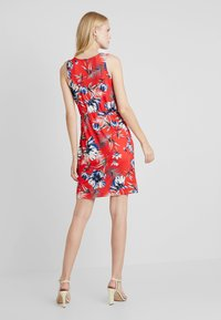 Anna Field - Shift dress - white/red/darkblue - 2