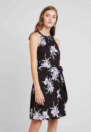 Maxi šaty - black/purple