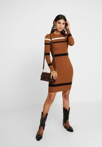 Anna Field - Jumper dress - camel - 2