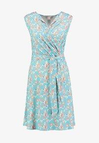 Anna Field - Day dress - white/blue/orange - 3