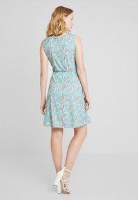 Anna Field - Day dress - white/blue/orange - 2