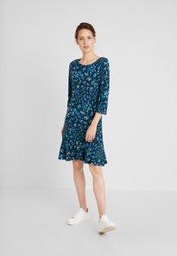 Anna Field - Day dress - blue/dark blue/black - 1