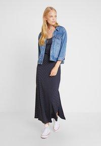 Anna Field - Maxi šaty - dark blue/white - 2
