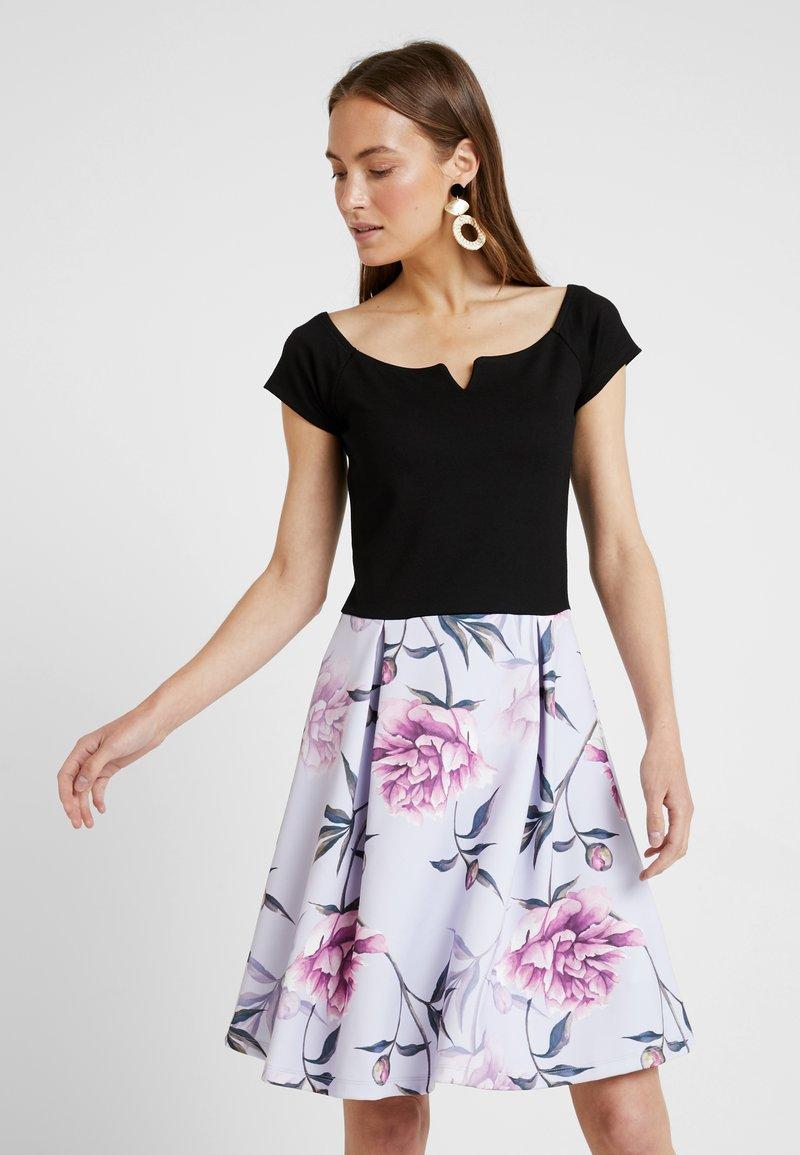 Anna Field - Jerseykleid - black/lilac