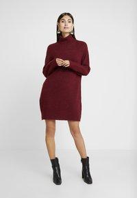 Anna Field - Jumper dress - winetasting - 2