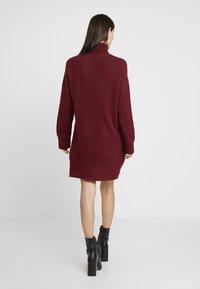 Anna Field - Jumper dress - winetasting - 3