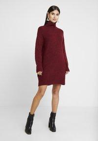 Anna Field - Jumper dress - winetasting - 0