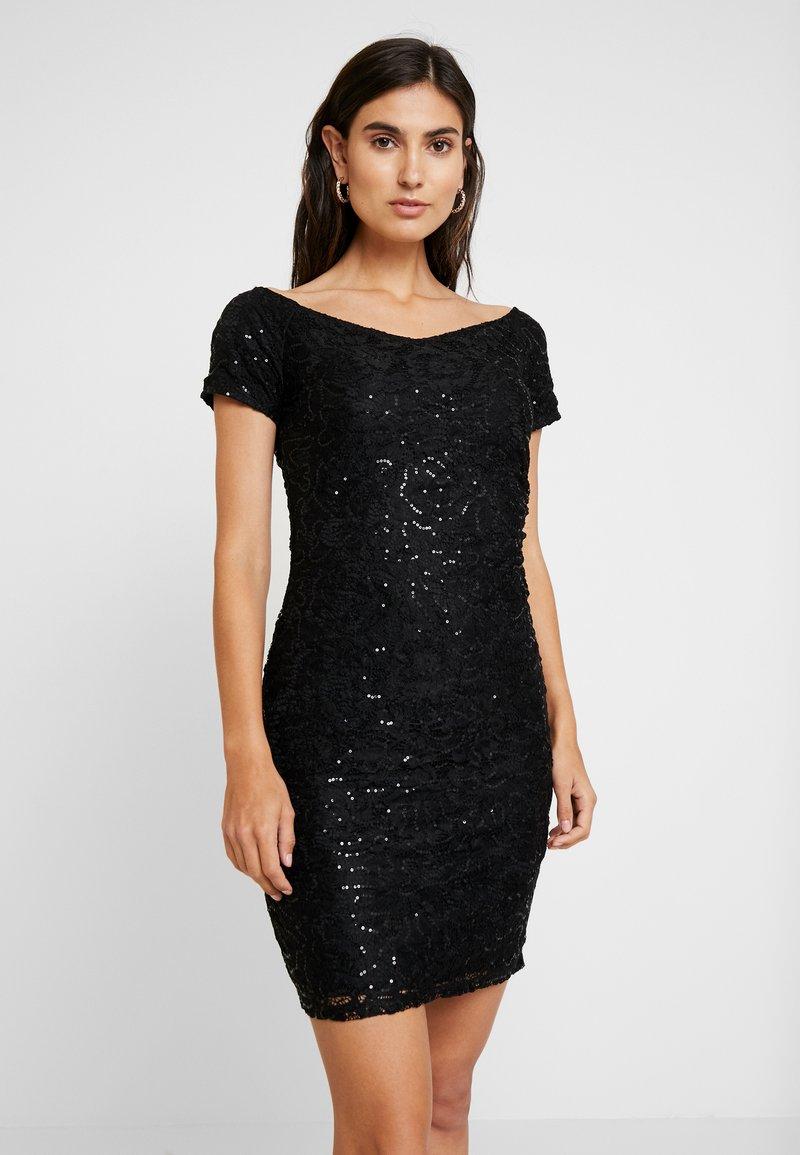 Anna Field - Koktejlové šaty/ šaty na párty - black/black