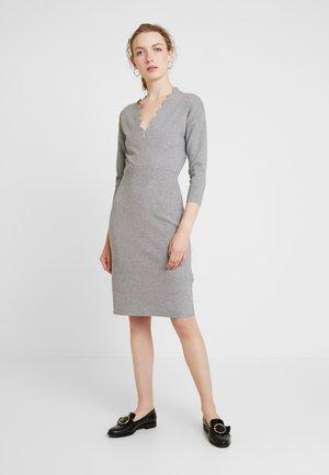 Robe pull - mid grey melange