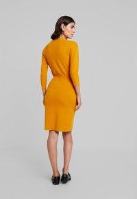 Anna Field - Pletené šaty - golden yellow - 3