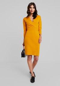 Anna Field - Pletené šaty - golden yellow - 2