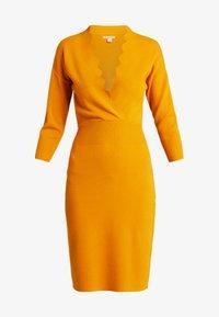 Anna Field - Pletené šaty - golden yellow - 4