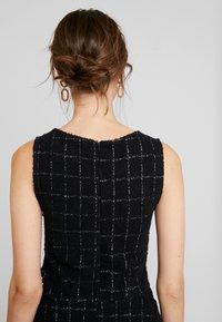 Anna Field - Fodralklänning - white/black - 5