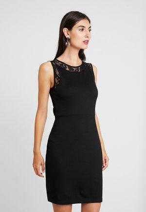 Sukienka etui - black
