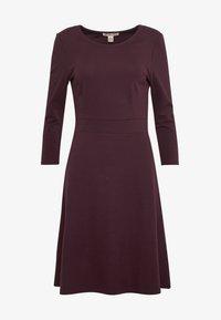 Anna Field - BASIC - Shift dress - winetasting - 3