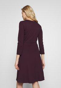 Anna Field - BASIC - Shift dress - winetasting - 2