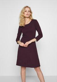 Anna Field - BASIC - Shift dress - winetasting - 0