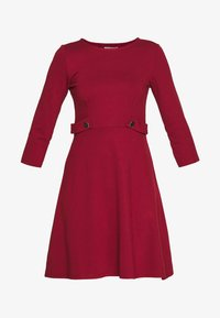 Anna Field - PUNTO FIT & FLARE - Jersey dress - biking red - 4