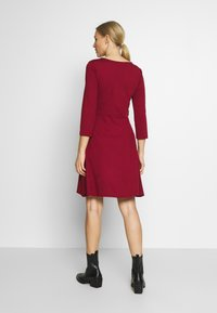 Anna Field - PUNTO FIT & FLARE - Jersey dress - biking red - 2