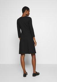 Anna Field - PUNTO FIT & FLARE - Jersey dress - black - 2
