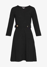 Anna Field - PUNTO FIT & FLARE - Jersey dress - black - 4