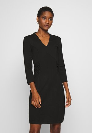 BASIC - Robe fourreau - black